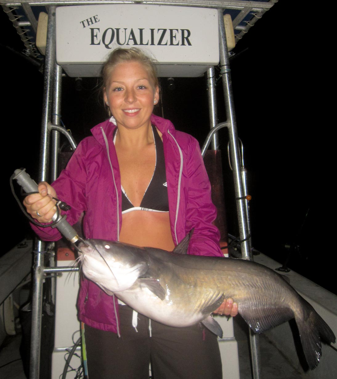 August 2012 – Guided catfishing trips on Kerr Lake